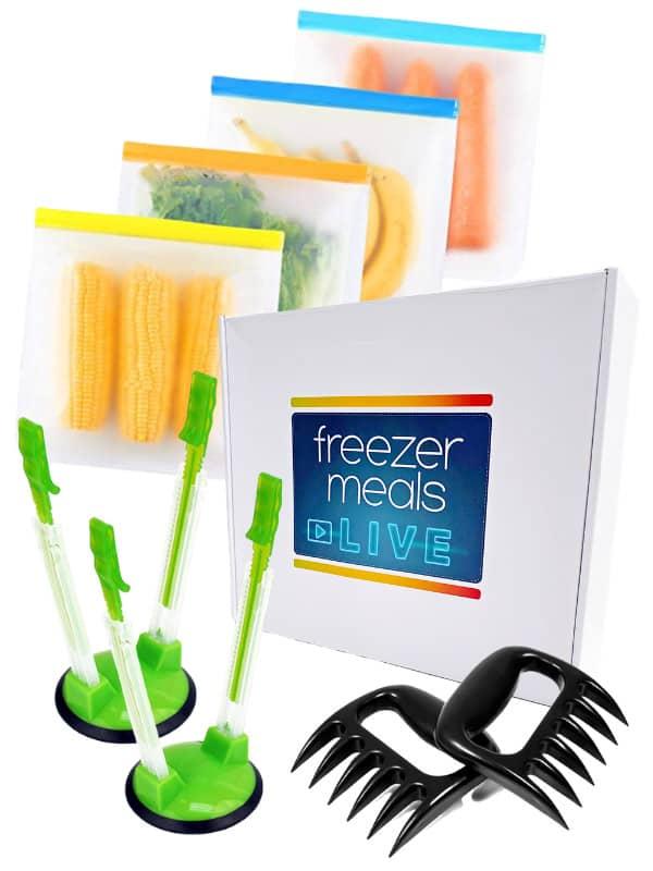 Free Freezer Meals Kit is February bonus